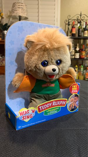 Teddy Ruxpin signing teddy bear for Sale in Moreno Valley, CA