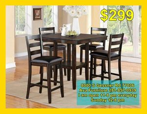 5 piece dining room table set for Sale in Houston, TX