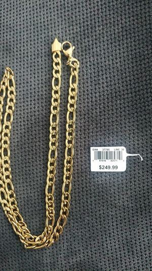 Plated gold chain for Sale in Castroville, CA