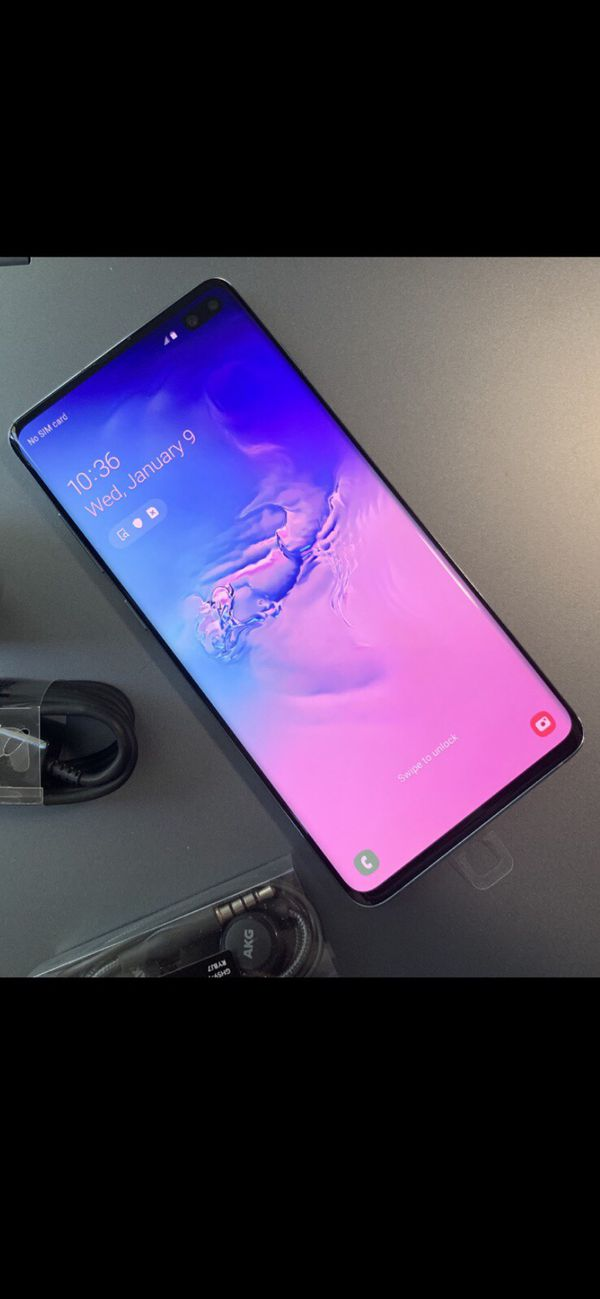 Samsung GALAXY S10+ just like NEW & FACTORY UNLOCKED