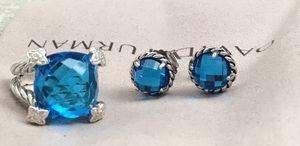 DAVID YURMAN - CHANTALINE BLUE TOPAZ SET! for Sale in Philadelphia, PA