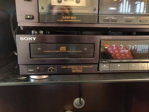 Sony cdp 507esd ES CD player for Sale in Salt Lake City, UT