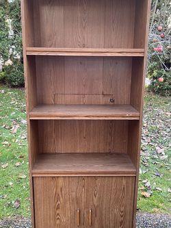 Wooden Book Shelf for Sale in Renton,  WA