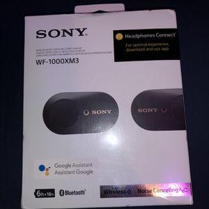 Sony WF-1000XM3 for Sale in Saginaw, MI