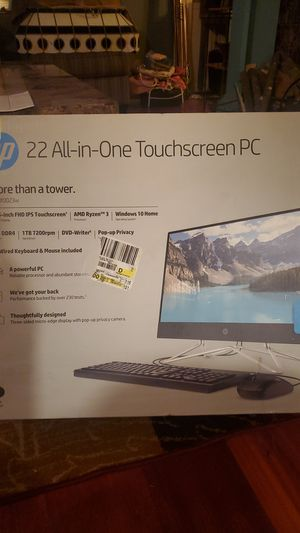 22 All-in-One HP Touchscreen for Sale in Davenport, IA