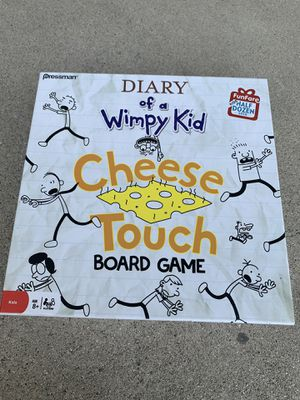 Diary of a wimpy kid cheese touch board game for Sale in Los Angeles, CA