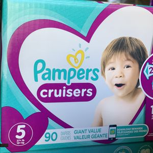Pampers Size 5 for Sale in Long Beach, CA