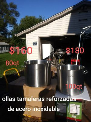 Ollas Tamaleras con asiento reforzado for Sale in Aurora, IL