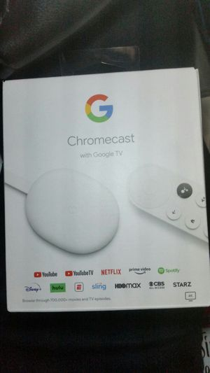 Brand new in box google chromecast for Sale in Tacoma, WA