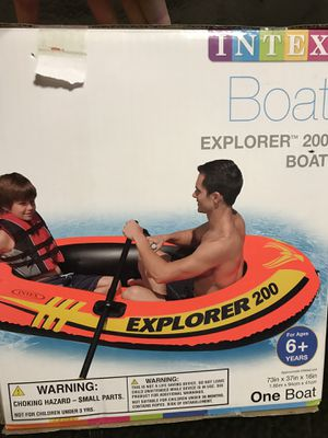 New Inflatable Explorer 200 Boat for Sale in Pasadena, TX