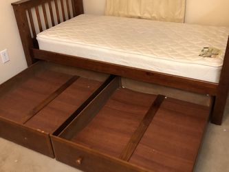 Twin Bed With Mattress & Dresser FREE for Sale in Zephyrhills,  FL