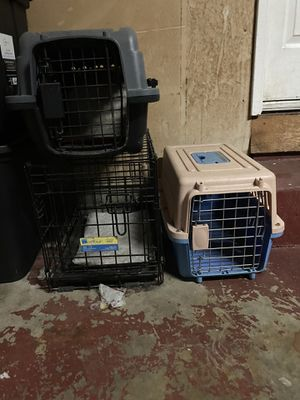 SMALL DOG KENNEL/CAGES (for house dogs or puppies) for Sale in Concord, CA