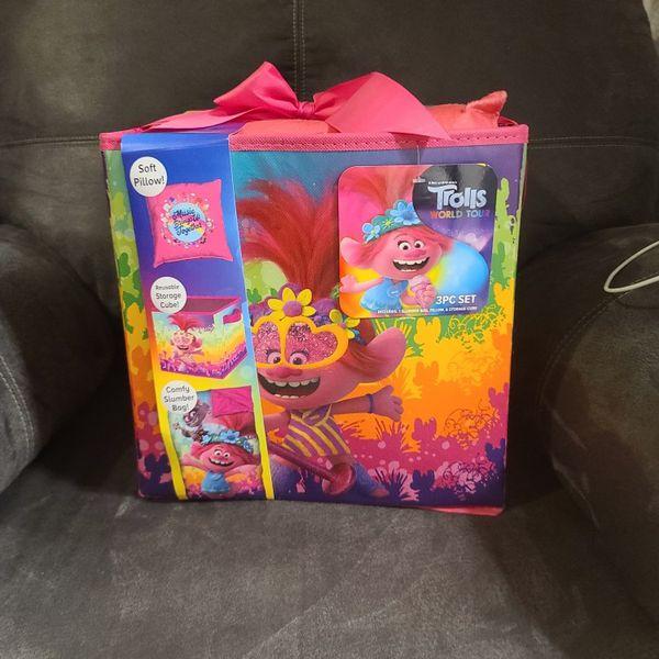 Trolls Kids Sleeping Bag Set