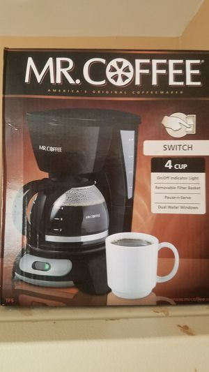 Mr Coffee 4 cup coffee maker for Sale in Chicago, IL