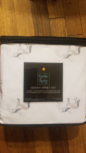 NIB Unicorn Queen Sheets for Sale in Denver, CO