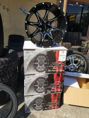 20x12 WarHound Rims for Sale in Houston, TX