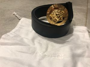 Black Versace Medusa Belt *Authentic* for Sale in Queens, NY