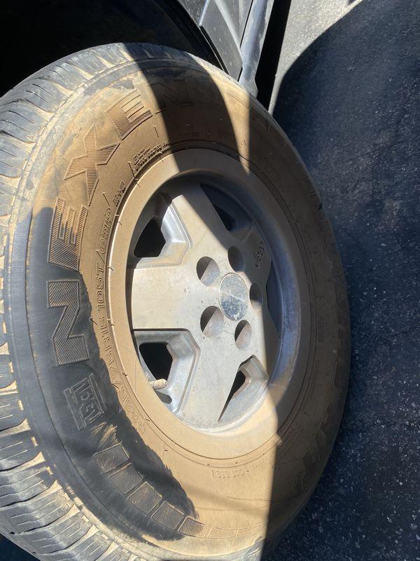 """15"""" jeep 5x4.5 wheels"""