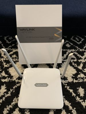 WiFi router and extender for Sale in Fontana, CA