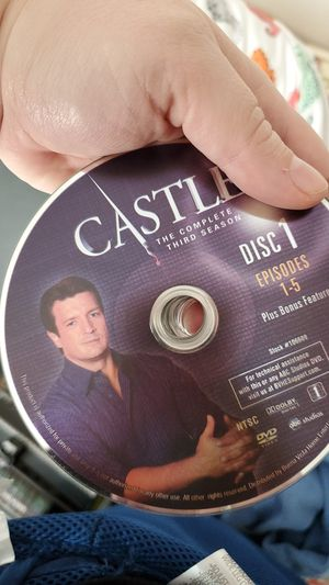 DVD'S of Castle, seasons 1-5 for Sale in Chesapeake, VA