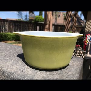 Pyrex verde casserole dish for Sale in Riverside, CA
