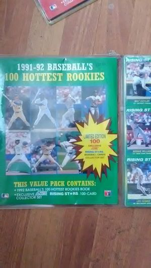 91-92 baseball cards for Sale in Obetz, OH