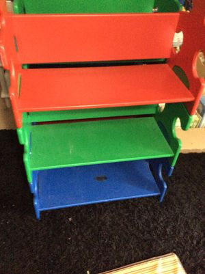 Kid Kraft puzzle piece bookshelves- 3 available for Sale in San Bernardino, CA