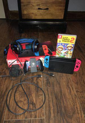 Nintendo switch v2 bundle!!! for Sale in Houston, TX