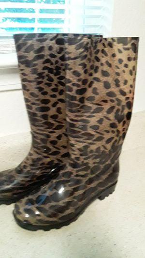 Women rain boots size 7 for Sale in Jonesboro, GA