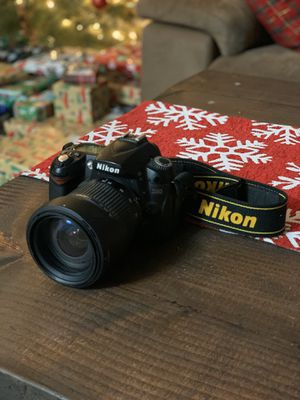 Nikon D90 DSLR Camera with 3 lenses, extra battery, tripod, camera bag and more for Sale in San Diego, CA