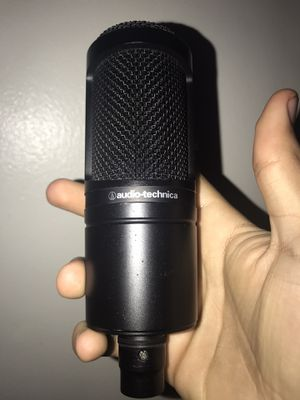 Audio Technica at2020 (little scratches) for Sale in San Jose, CA
