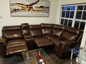 Recliner sofa, coffee tables and fireplaces for Sale in Cape Coral, FL