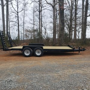 18ft Equipment hauler 14k for Sale in Cary, NC