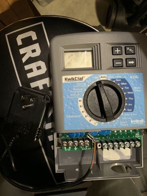 KwikDial KD6-INT Sprinkler Controller/Timer for Sale in Kent, WA