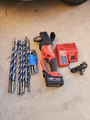 Milwaukee hole hawg drill set for Sale in Phoenix, AZ