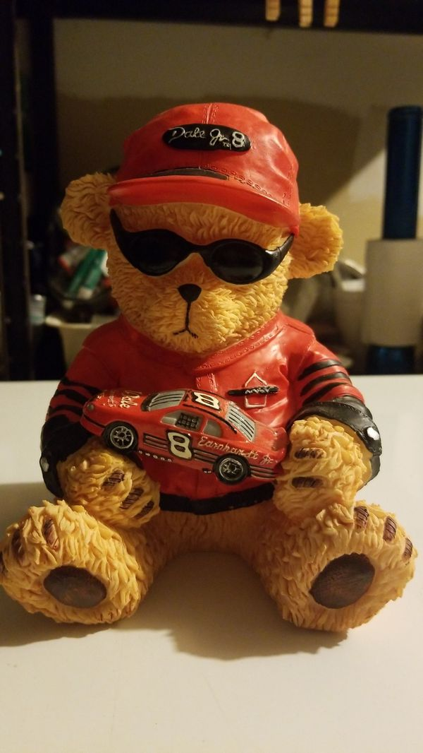Dale Jr Teddy Bear Bank