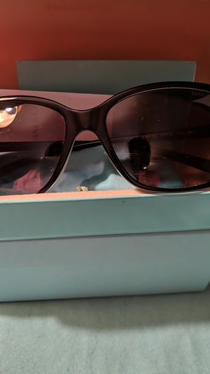 Tiffany & Co Square Black and Blue Sunglasses for Sale in McKeesport, PA