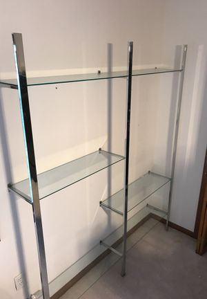 Wall mount glass shelves for Sale in Champaign, IL