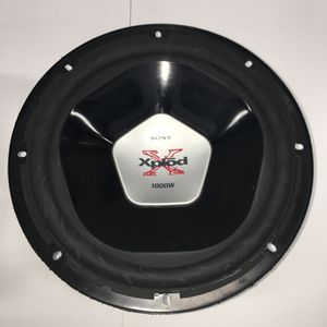 "Pair 12"" Sony Xplod subwoofers 2000 watts for Sale in San Diego, CA"