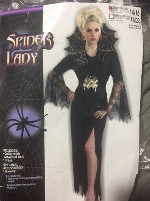 Spider lady Halloween costume sz 14/16 for Sale in Snellville, GA