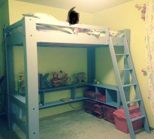 Twin size Loft bed for Sale in Elma, WA