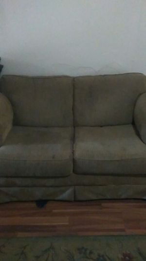 Couch nice by itself 100 for Sale in Pittsburgh, PA