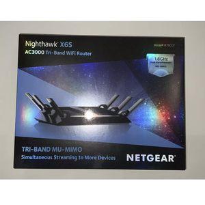 Netgear Nighthawk X6S AC3000 Tri Band WiFi Gigabit Router R7900 for Sale in Louisville, KY