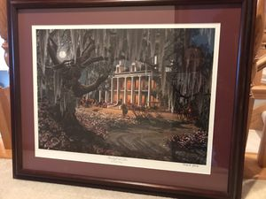 New Orleans framed art -moonlight and Lace for Sale in New Lenox, IL