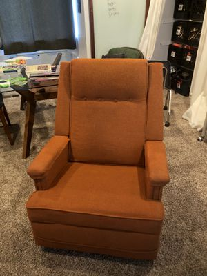 Vintage mid century la z boy rocker recliner for Sale in Beaverton, OR