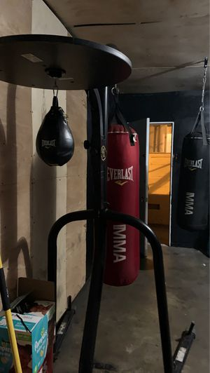 Punching bag /speed bag combo for Sale in Los Angeles, CA