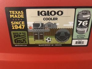 Igloo cooler 48qt for Sale in Henderson, NV
