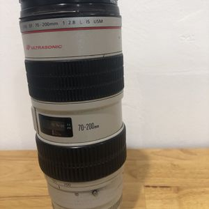CANON 70-200mm 2.8 L IS USM for Sale in Miami, FL