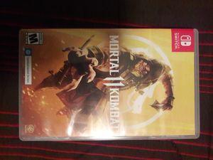 Mortal Kombat 11 Nintendo switch for Sale in Bakersfield, CA