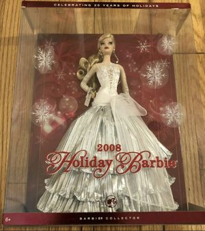 New MISB Mattel Holiday Barbie 2008 for Sale in Arcadia, CA